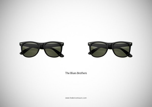 Lunettes Blues Brothers