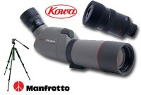Kowa PACK TSN663 + Oculaire 20x60x + Pied Manfrotto