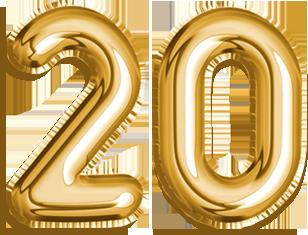 20 Ans Anniversaire Png.20eme Anniversaire Lunettes A Gagner Optique Sergent