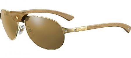 668e423d91 Lunettes de soleil Cartier Santos Dumont T8200861 - Optique Sergent