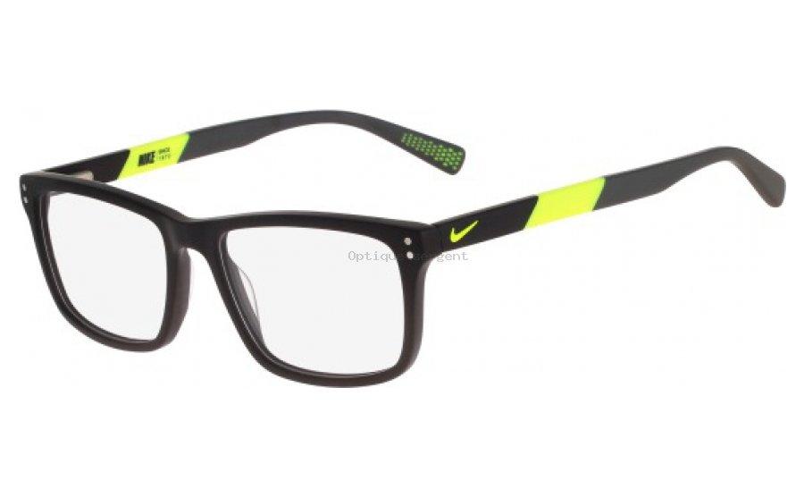 Nike NIKE 7238. Ref   NIKE 7238-001. Lunettes de vue Nike Homme NIKE 7238  couleur MATTE BLACK-VOLT. 2ec072781bd7