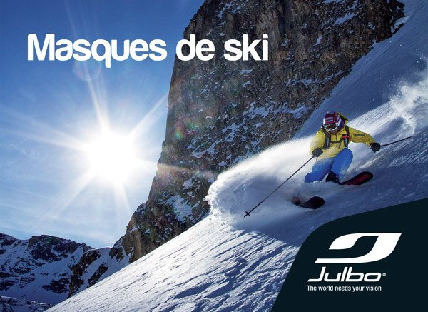 Collection masques de ski Julbo 2013-2014