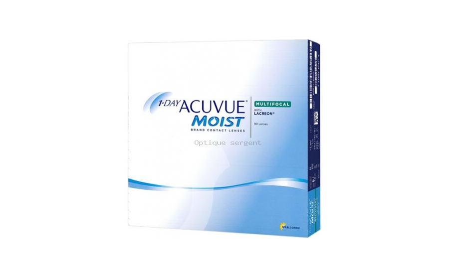 1-DAY ACUVUE MOIST Multifocal High vente par 90