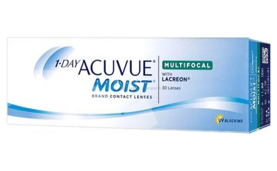 1-DAY ACUVUE MOIST Multifocal High vente par 30