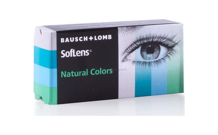 SOFLENS NATURAL COLOR AQUAMARINE